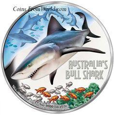 $1 Deadly /& Dangerous Eastern Brown Snake Tuvalu 1 oz Silver 2010 Proof
