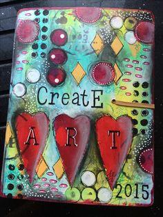 Tracy Scott - Dylusions art journal