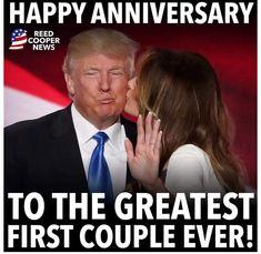 Malania Trump, John Trump, Trump Is My President, Trump One, Donald Trump Family, America Quotes, Donald And Melania, Greatest Presidents, First Lady Melania Trump