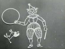 """First animated """"movie"""" in 1899."""