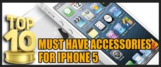 Can't decide which of the many iPhone 5 accessories to purchase first? Browse through this list of the Top 10 must have iPhone 5 accessories to know which of them are truly worth paying for! Must Haves, Iphone, Accessories, Tops, Ornament
