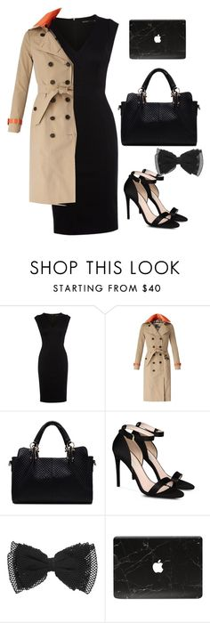 """""""Untitled #143"""" by ciara-dexter ❤ liked on Polyvore featuring Karen Millen, Burberry and STELLA McCARTNEY"""