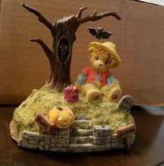"Cherished Teddies ""Halloween's a Boo-tiful Thing"" Avon Exclusive 119912 Enesco"