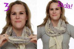 The Boho scarf tying