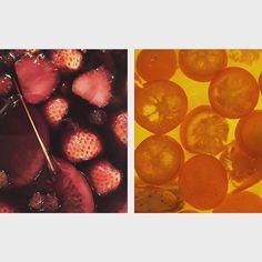 いちごと桜のサングリア(赤)と 金柑とアールグレイのサングリア(白) . #東中野 #lievre #liévre #lièvre #リエーブル #立ち飲みワインバー #立ち飲みワイン #立ち飲み #ワイン #ワインバー # #サングリア  #自家製サングリア #いちごと桜 #金柑とアールグレイ #赤ワイン #白ワイン #赤サングリア #白サングリア #春のおすすめ