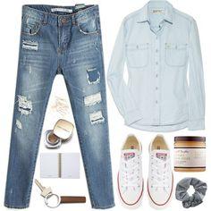 ~ Jeans & Converse ~