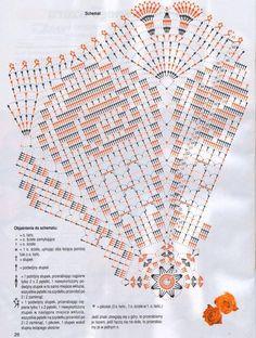 nice filet in a doily Filet Crochet, Crochet Doily Diagram, Crochet Diy, Crochet Mandala, Crochet Stitches Patterns, Crochet Chart, Crochet Home, Thread Crochet, Crochet Motif