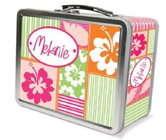 Our personalized Hula Girl Lunch Box is the perfect lunch time accessory for any surfer girl with its functional and beachy, Hawaiian design. Kids Lunch For School, Healthy Lunches For Kids, Healthy Toddler Meals, School Snacks, Kid Snacks, Lunch Snacks, Toddler Food, Top School, School Ideas