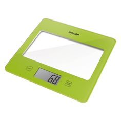 Sencor Kitchen Scale SKS 5011GR - Ultra slim design (height only 16 mm) - Large LCD display (55 x 25 mm) - Successive weighing function