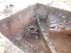 Vivienda del siglo XII hallada en la ciudad de Saltés (Huelva)
