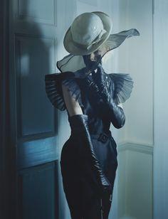 Kinga Rajzak photographed by Tim Walker for the October 2009 issue. Tim Walker: The Vogue Archive