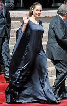 Angelina Jolie leaves on September 14, 2012 after meeting with the Turkish deputy prime minister in Ankara.