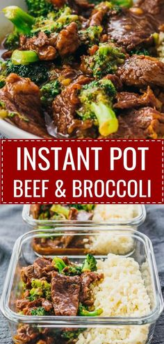 This Instant Pot Beef And Broccoli recipe uses pressure cooking to cook the beef and sauce -- easy quick and simple! It's gluten free and also healthy if you use a sugar free sweetener for low carb / keto diets. I adapted my best authentic Chinese stir Crock Pot Recipes, Slow Cooker Recipes, Simple Cooking Recipes, Healthy Pressure Cooker Recipes, Pressure Cooker Meals, Cooking Ideas, Quick Recipes With Beef Stew Meat, Beef And Broccoli Pressure Cooker Recipe, Easy Beginner Recipes