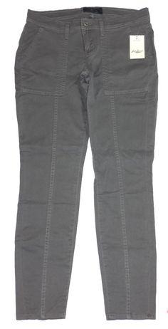 Lucky Brand Jeans Womens Pants CHARLIE Skinny Leg Stretch Grey Sz 27 NEW $99 #LuckyBrand #CasualPants