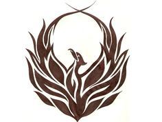 phoenix tattoo | Tribal Phoenix Tattoo Idea Picture in category : Tribal Tattoos