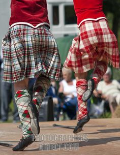 On the left - kilt with red vest from the waist down #macbean #red #tartan