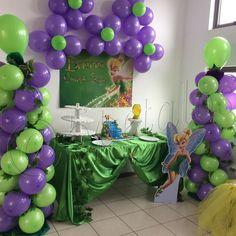 Montaje Tinkerbell #5petalos #cumpleaños #fiestastematicas #tinkerbell