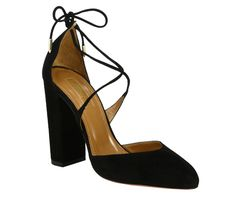 See Spring's New Take on the Sexy Lace-Up Shoe Trend - Aquazzura  - from InStyle.com