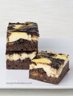 Protein Brownie Cheesecake Bites--use real, whole food ingredients (svf, good sweetener, full fat cream cheese, etc)