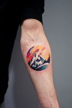This abstract design of a mountain show uniqueness and just boosts life.