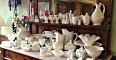 It Doesn't Get Much Prettier Than Milk Glass! Learn How To Identify These Beautiful Pieces. | Dusty Old Thing