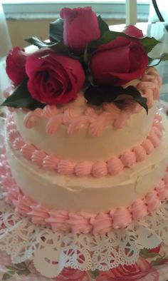 Dominican cake for bbq party