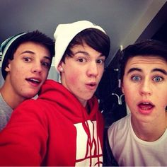 Taylor caniff, cameron dallas, nash grier