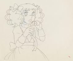 CANDY - Studio Toei - Dessin original d'animation représentant..., Bandes Dessinées et Originaux à Vermot et Associés