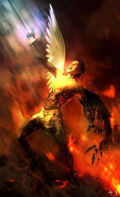 Lucifer Cast Out