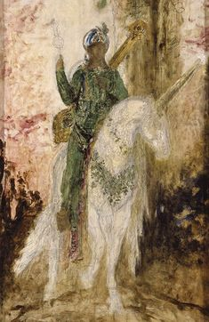 Gustave MOREAU (1826-1898), Persian Poet.