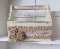 canasta de madera vintage pinterest - Buscar con Google