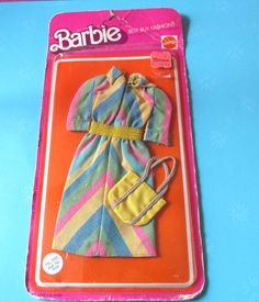 Barbie Best Buy Dress and Purse,NRFP 9155