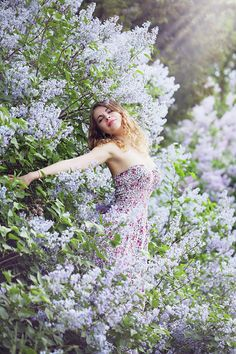 girl-spring by Iuliia Malivanchuk  #IuliiaMalivanchuk #IuliiaMalivanchukFineArtPhotography #ArtForHome #FineArtPrints #HomeDecor #People #woman #spring #flowers #lilac
