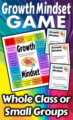 Keep Growth Mindset in front of the students with this fun and engaging game. It's a great way to remind your class to check their thinking. This Bump Game can be played with the whole class or small groups. As you work to help students become more growth-oriented learners why not practice with a game.  This resource is intended to give you some tools to keep the discussions going. A fresh new way to look at Growth Mindset.