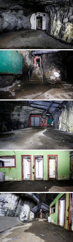 An urban explorer infiltrated and documented this abandoned nuclear shelter from the Cold War.