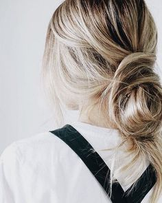 Loose updo hairstyle - Fabmood   Wedding Colors, Wedding Themes, Wedding color palettes