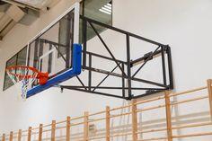 Konstrukcja do koszykówki naścienna