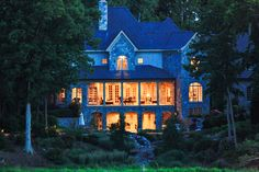 A country house retreat with spectacular waterfront views in White Stone, Virginia.