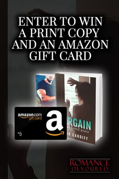 Win a $5 Amazon Gift Card, Copies or Ebooks from Bestselling Author Lisa Cardiff