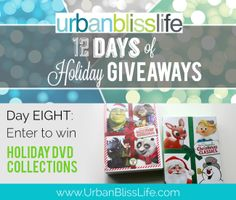 12 Days of Holiday Giveaways - Enter to win one of two Christmas DVD Collections