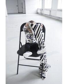 Baby pants - Black - by AARREKID Baby Pants, Baby Strollers, Kimono, Fox, Classic, Cotton, Black, Design, Baby Prams