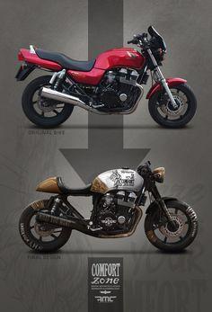 37 Ideas For Bobber Motorcycle Kawasaki Motorbikes Cb750 Cafe Racer, Honda Scrambler, Honda Cb750, Suzuki Cafe Racer, Modern Cafe Racer, Cafe Racer Style, Custom Cafe Racer, Cafe Racer Build, Moto Cafe