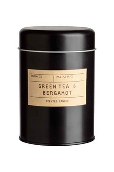 Bougie parfumée - Noir/Green Tea & bergamot - Home All | H&M FR 1