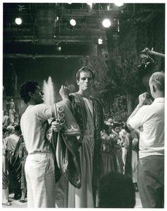 Charlton Heston by Islay Lyons on the set of Ben-Hur