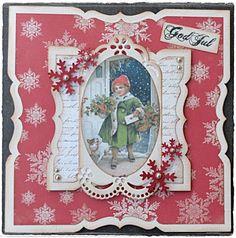 Velkommen inn: I dag ble det rødt julekort...