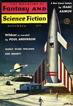 John Pederson - The Magazine of Fantasy and Science Fiction, November 1958.
