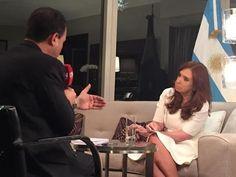 """Entrevista de Cristina Kirchner para C5N con Gustavo Sylvestre - """"Tenemos que privilegiar siempre los intereses de nuestro país, que no quiere decir estar aislados del mundo"""""""