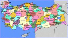Digital maps that give you a geography of the countries of the world can be for print as well as guided tours. Turkey Country Map, Country Maps, Turkey History, Republic Of Turkey, Where Is My Mind, Information And Communications Technology, Printable Maps, Strange Photos, Distinguish Between