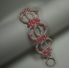 Beading Tutorial Bead Interlocking Bracelet by Splendere on Etsy