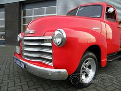 1951 Chevrolet 3100 Pickup 350 CUI V8 Automatic Gearbox (79 photos)